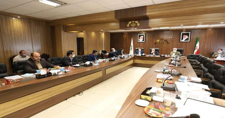 گزارش تصویری جلسه کمیسیون تلفیق شورای اسلامی شهر رشت مورخ 1400/1/22