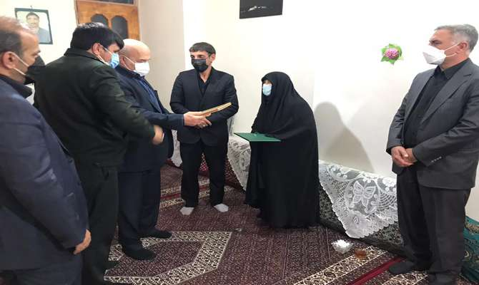 کلانتری با خانواده شهدای محیط بان زنجان دیدار کرد/دو پاسگاه به نام شهدای محیط بان احداث می شود