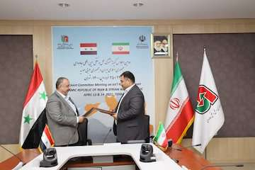 امضای سند توافقنامه دومین اجلاس کمیته مشترک همکاریهای حملونقل بینالمللی جادهای ایران و سوریه