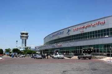 اتمام عملیات محوطه سازی مقابل ترمینال ۳ فرودگاه تبریز