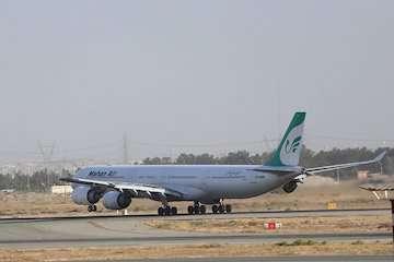 بازگشت پرواز گوانجوی ماهان به تهران