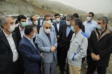 نظارت بر تکمیل آزاد راه تهران-شمال تشدید شد
