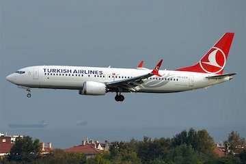 تجدیدنظر ترکیش ایرلاینز در خرید بویینگ ۷۳۷ مکس
