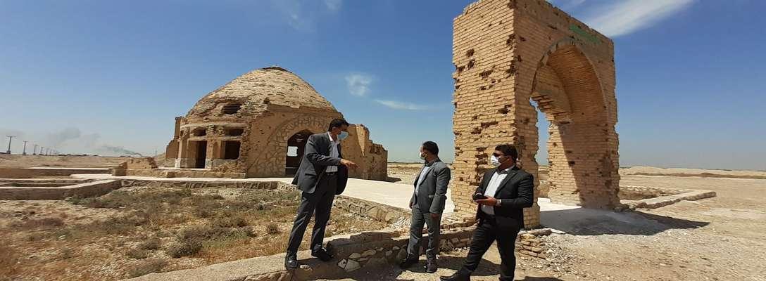 شهردار خرمشهر از مسجد تاریخی و ثبت ملی ولیعصر (عج) بازدید کرد