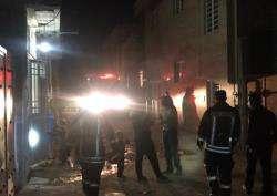سوختگی شدید ۱۰ نفر بر اثر انفجار گاز یک منزل مسکونی در کیان آباد