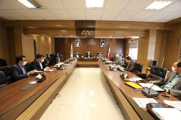 گزارش تصویری جلسه کمیسیون تلفیق شورای اسلامی شهر رشت مورخ 00/1/30