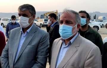 وزیر راه و شهرسازی از طرح یکهزار واحدی مسکن چابهار بازدید کرد