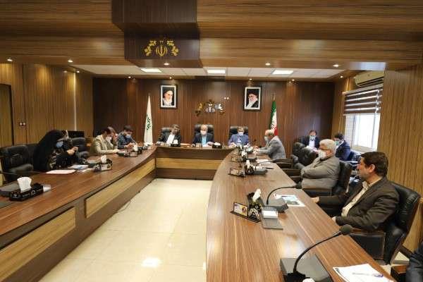 گزارش تصویری جلسه صحن شورای اسلامی شهر رشت مورخ 1400/2/1