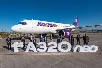 رشد تعداد هواپیماهای تحویل شده توسط ایرباس/ سفارشهای ایرباس نسبت به سال گذشته افزایش یافت