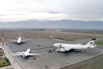 جاده حفاظتی فرودگاه شهدای گرگان بهسازی شد