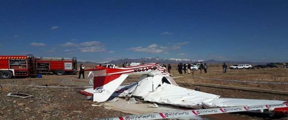 گزارش اولیه سانحه هواپیمای فوق سبک در اراک منتشر شد