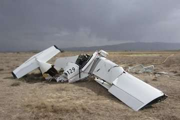 احتمال سقوط به علت واماندگی/ درخواست خلبان برای بازگشت به فرودگاه