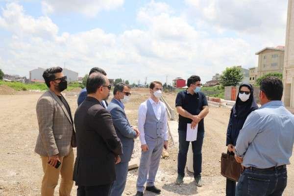 بازدید علوی ، رئیس کمیسیون عمران شورا از روند بازگشائی پروژه امام علی (ع) و تقاطع ولیعصر