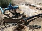 افزايش آبدهي چاه مجتمع مهردشت شهرستان ابركوه یزد