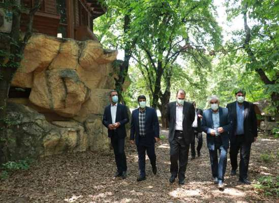 پروژه پارک شهید زارع ساری دوباره رونق گرفت