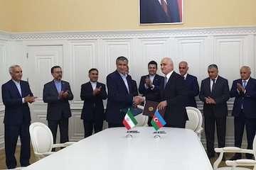 تفاهمنامه ساخت پل آستاراچای بین ایران و جمهوری آذربایجان به امضا رسید/ مشارکت ۵۰ درصدی هر دو کشور برای ساخت این پل در ۱۲ ماه