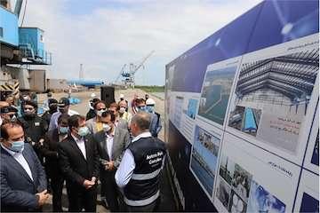 سهم قابل توجه بندر آستارا در جابهجایی کالا در دریای خزر/ حداکثر سازی ظرفیت بندر آستارا با اجرای برنامههای توسعهای/ تشریفات قانونی تبدیل بندر آستارا به منطقه ویژه اقتصادی انجام شده است