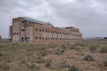 پیشرفت ۸۱ درصدی پروژه ساخت بیمارستان خمین