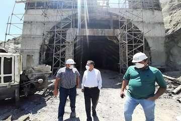 پیشرفت فیزیکی ۹۴درصدی تونل شرقی البرز