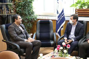 دیدار مجید کیانپور با نایب رئیس کمیسیون برنامه، بودجه و محاسبات مجلس