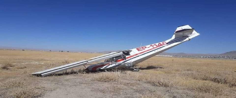 سقوط یک هواپیما سبک آموزشی در بجنورد