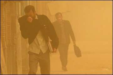 خیزش گردوخاک در شرق و جنوبشرق/تهران گرم میشود/روند افزایش دما در بیشتر مناطق کشور