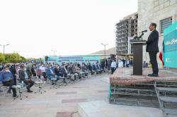 امیدوارم اعضای جدید شورای اسلامی شهر، گام های بلندتری در جهت توسعه و به ویژه تعالی شی ...