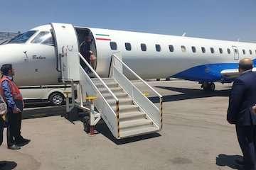ورود پیکر خبرنگاران آسمانی شده در سانحه دیروز  به فرودگاه مهرآباد