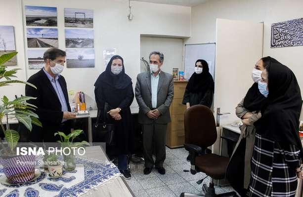 همدردی مسئولان محیط زیست استان اصفهان با خبرگزاری های ایسنا و ایرنا