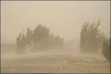 وقوع طوفان شن،خیزش گردوخاک، کاهش دید در نیمه شرقی کشور/بارش شدیدباران و رعدوبرق همراه با وزش باد شدید، خیزش گردوخاک و احتمال تگرگ در جنوب ایران