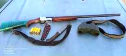 دستگیری متخلف شکار و صید قبل از اقدام به شکار در منطقه حفاظت شده قمصر و برزک کاشان