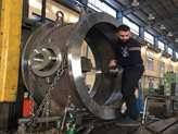 طراحی و ساخت شیر پروانهای 60 اینچ در نیروگاه بندرعباس