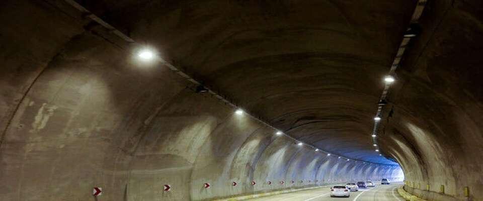طولانیترین تونل جادهای خاورمیانه فردا زیر بار ترافیک می رود