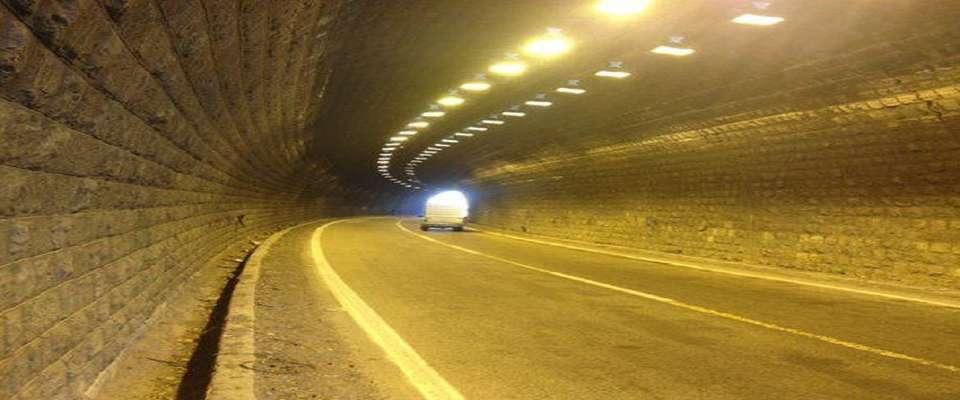 کاهش تلفات جادهای با افتتاح طولانیترین تونل خاورمیانه