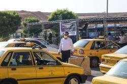 آغاز گام نخست واکسیناسیون رانندگان ناوگان حمل ونقل عمومی در استادیوم ورزشی پارس شیراز