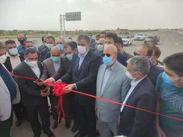 بخش پایانی طرح ملی آزادراهکنارگذر شرق اصفهان به بهرهبرداری رسید