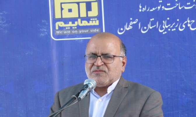ایمنسازی تقاطع شهدای هستهای سبب دسترسی به آزادراه کاشان-نطنز میشود