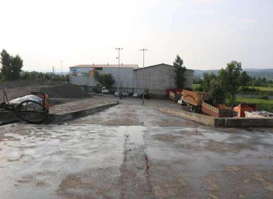 پاکسازی کامل سکوی سابق انتقال زباله ساری
