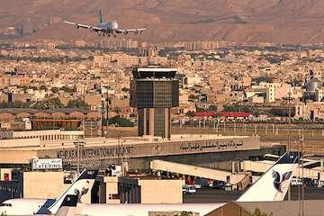 تعطیلی ۲ ساعته فرودگاههای تهران و البرز در روز سهشنبه
