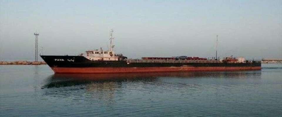 کشتی پایا به سمت بندر آستاراخان در حال حرکت است