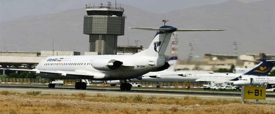 پرواز در فرودگاههای تهران و البرز به حالت عادی برگشت