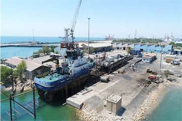 تعمیر ۸ فروند شناور خدماتی در ۵ ماهه نخست سال جاری