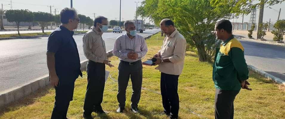 از بررسی حضور نیروها تا آخرین وضعیت پارکها و فضاهای سبز شهرداری خرمشهر