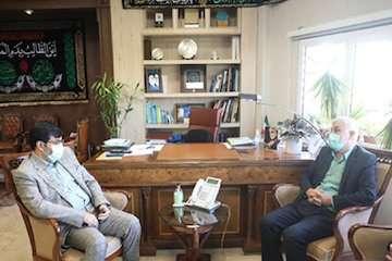 دیدار نماینده سمیرم با معاون وزیر راه و شهرسازی