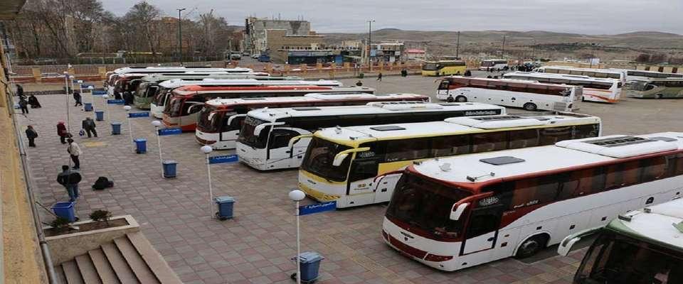 آمادگی ۶۰۰ دستگاه اتوبوس برای بازگشت زائران اربعین از مرزهای زمینی