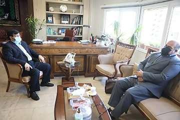 دیدار نماینده آبادان با معاون وزیر راه و شهرسازی