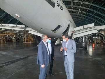 حسینی: جایگاه ناوگان ملی هواپیمایی باید تقویت شود