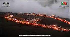 دلیل ترافیک سنگین در گردنه حیران چه بود؟