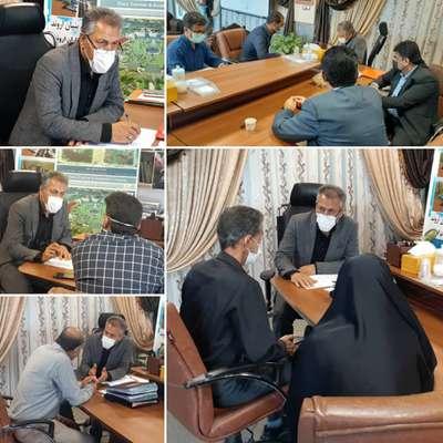 ملاقات عمومی سرپرست شهرداری خرمشهر با شهروندان برگزار شد