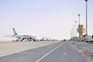 فرودگاه اصفهان با ۲۰ سورتی پرواز میزبان زائران اربعین است